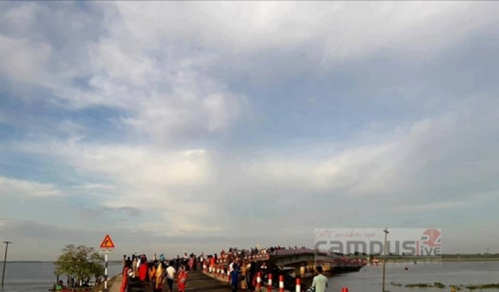 চলুন ঘুরে আসি রহমতপুর (উচিতপুর) নৌবন্দর, হাওড়ের অথৈ জলরাশিতে