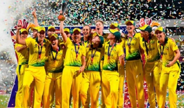 নারী টি-টোয়েন্টি বিশ্বকাপের শিরোপা জিতেছে অস্ট্রেলিয়া