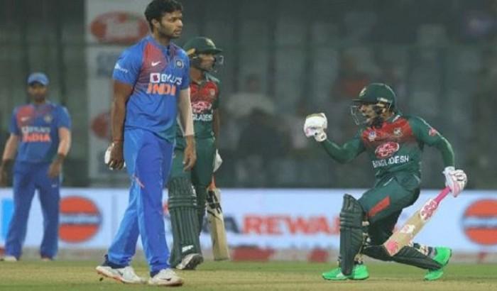 ভারতের বিপক্ষে শেষ টি-২০ খেলতে নামছে বাংলাদেশ