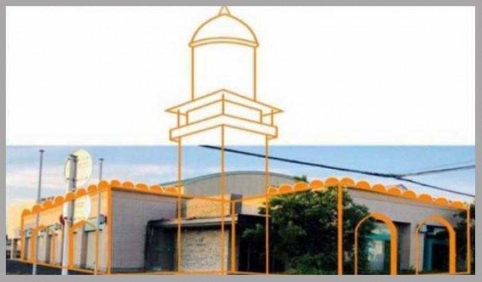 জাপানে তৈরী হচ্ছে দৃষ্টিনন্দন মসজিদ