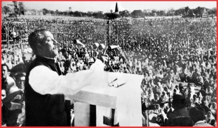 ৭ মার্চের মহাকাব্যঃ বাঙ্গালী জাতির মুক্তি