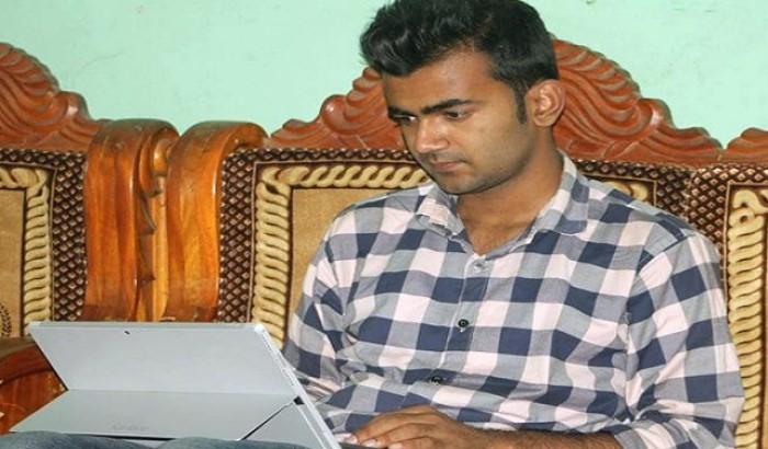 করোনা ভাইরাসের অ্যাপস তৈরি করেছেন স্বপ্নবাজ কলেজ শিক্ষার্থী