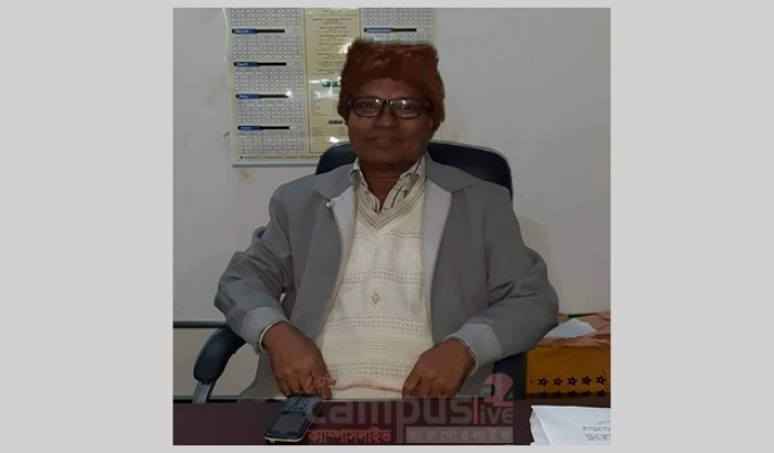 বশেফমুবিপ্রবির বিজ্ঞান অনুষদের ডিন প্রফেসর ড. সুশান্ত কুমার