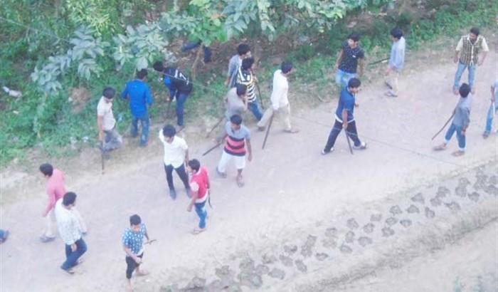 রোকেয়া বিশ্ববিদ্যালয়ে ফাও খাওয়া নিয়ে সংঘর্ষে জড়াল ছাত্রলীগ