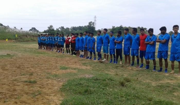 কুবিতে আন্ত:বিভাগ ফুটবল টুর্নামেন্ট উদ্বোধন