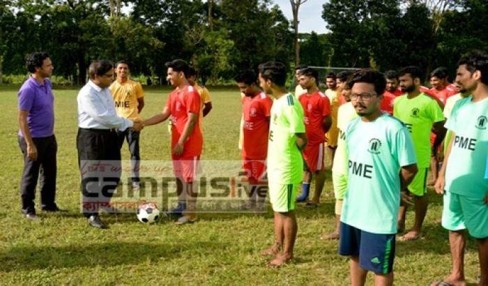 চুয়েটে আন্ত:বিভাগ ফুটবল টুর্নামেন্টের উদ্বোধন