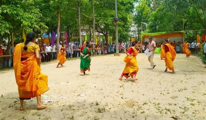 চট্টগ্রাম বিশ্ববিদ্যালয়ে বউচি খেলার দৃশ্য যেন নস্টালজিয়া!