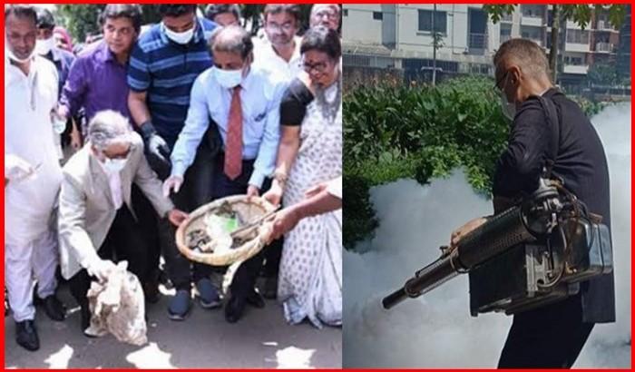 ডেঙ্গু নিধন : ঢাবির ভিসি বনাম ইন্ডিপেন্ডেন্ট ইউনিভার্সিটির প্রো-ভিসি!