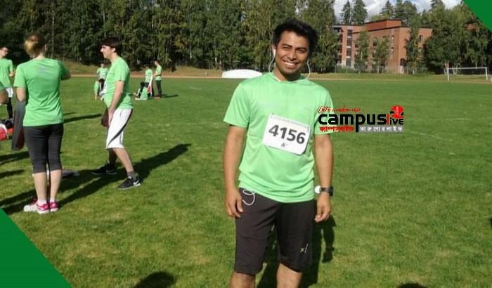 ফিনল্যান্ডের জাতীয় ক্রিকেট দলে চান্স পেলেন শাবি ছাত্র